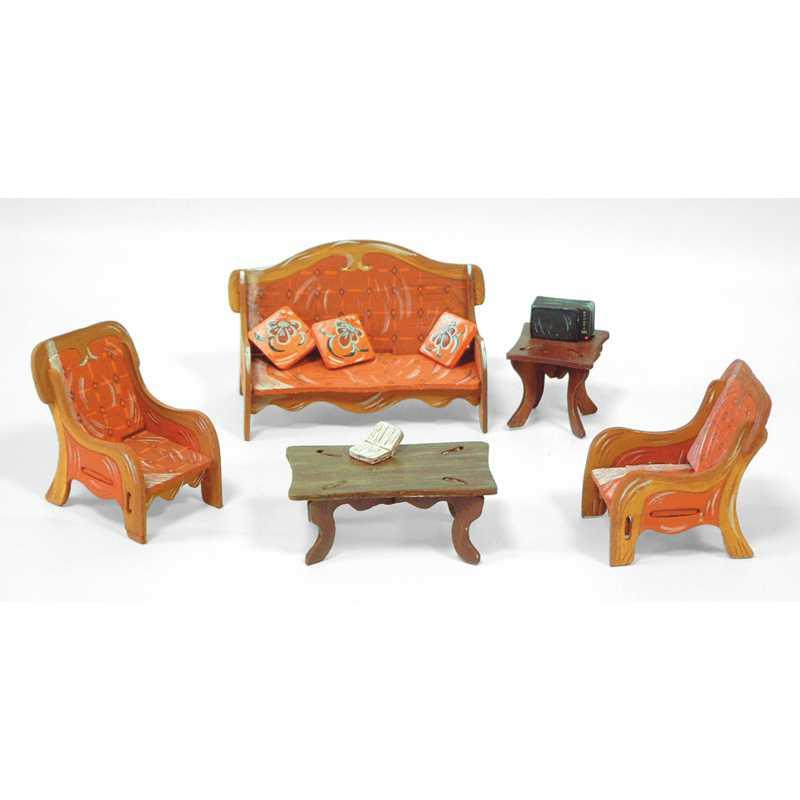 Кукольная Мебель Гостиная